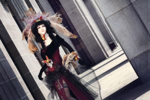 xxxHolic Yuuko cosplay_Following your wish by Kzaka