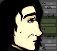 Severus Snape-I Hurt Myselff By Hurting You by TheSisters2