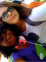 Me nd' Katy. :3 by BarfingNeonRainbows