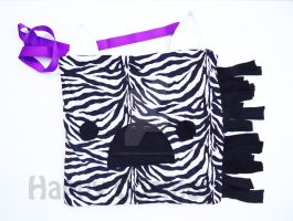 Zebra Bag by CosmiCosmos