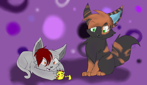 Request-Kitty Play by Izzyhime