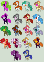 Leftovers - for free. (open) by Rainbows-Lover