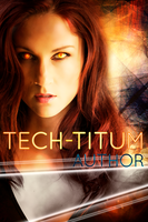 Premade Book Cover: Tech-Titum by omgjojodear