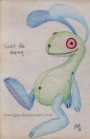 Trevor the Bunny by Morrgan
