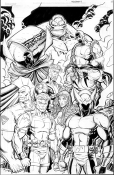 Shadowhawk Resurrection #5 Page 22 by ToneRodriguez