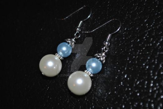 Glass Pearl Earrings 2 by zypher052