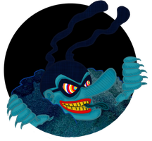 AT- Blue Meanie by PsychedelicHippie