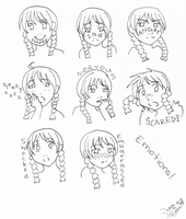 Emotions for Class by chiyokins