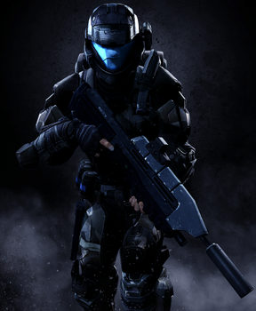 Silent ODST by LordHayabusa357