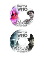 Doctor Who Classic Series DVDs by studiomonroe