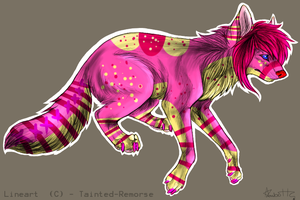 Scene Wolf Adopt-OPEN by Wolfies--Adopts