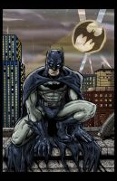 Batman Inks and Colors by ChrisMcJunkin