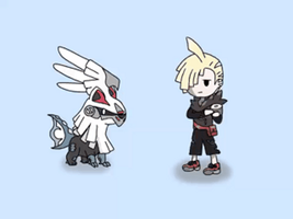 Gladion and Sivally Animation