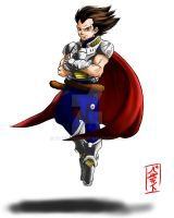 Vegeta Redesign by WhysoGurin