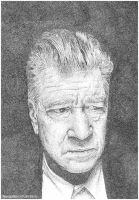::Stippled:: David Lynch by BikerScout