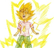 Super Saiyan Reggie by SSJGarfield