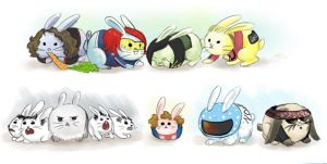 MCR: Killjoy Bunnies by Chocoreaper
