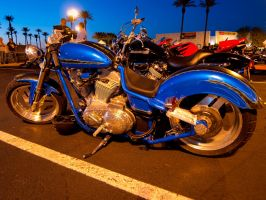 The Blue Bobber by Swanee3