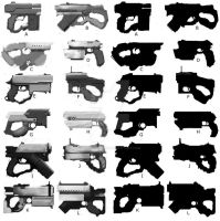 Hand Cannon concepts - 3 by FeatherSword