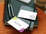 Modern Makeup Artist Business Cards by es32