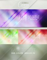 Livenight Facebook Covers by blackcatme