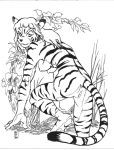Another Tigergirl by KendoMushi