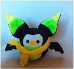 Green Owl-Bat Plush by StarMassacre