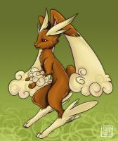 Trade Commission - Lopunny by Kiriska
