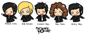 My Chemical Romance II. by TeenTitans-Starfire