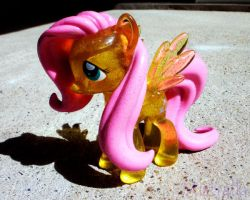 A shiny FLUTTERSHY has appeared! by Mistralla