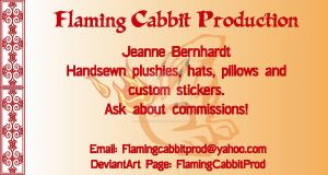 Business Card by FlamingCabbitProd