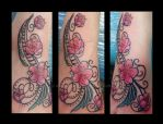 Cherry Blossom Tattoo by Metacharis