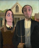 American Gothic Pewds by Snak356