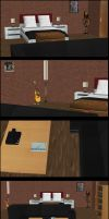 Riley and Kasumi Apt bedroom (XPS Download) by lonelygoer