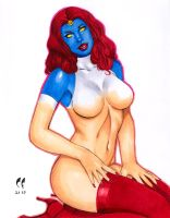 Mystique by daikkenaurora