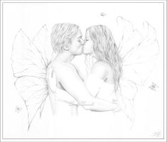 Love of the fairies. by Zindy