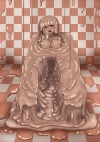 Valentines day chocolate slime girl. by rethnick