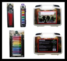 TMNT SchoolAid Art Supplies by Cheps-Oner