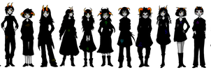 All the Fantrolls by Silver-Day