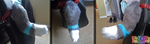 (SOLD) Grey and White Tipped Squeaker Tail by TECHNlCOLOUR