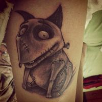 First tattoo-Sparky by ochiba1110