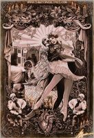The Black Heart Ballet by Christopher Lovell by Lovell-Art