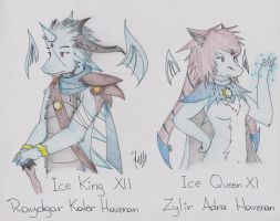 Ice King and Queen by Dragon-Wish