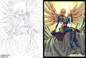 8 Valkyries color commish 2 by Ross-A-Campbell