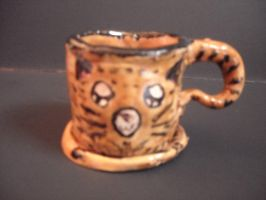 Lynx style cup and saucer by PikoriChan