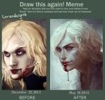 Before and After Lestat by LoranDeSore