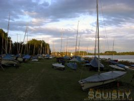 Boat Park at Dawn by squishy2004