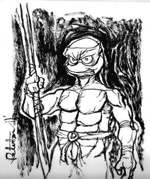 Donatello on Bristol by Peter-Hon