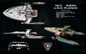 Merian class ortho - USS Planck by unusualsuspex