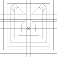 Timberwolf (Mad Cat) Mech Crease Pattern by Cahoonas